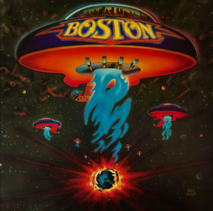 Boston ‎- Boston (LP) (VG-/VG-)